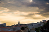 Croatia - Dubrovnik: skyline at sunset - photo by P.Gustafson