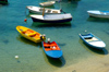 Croatia - Dubrovnik: colorful boats - photo by P.Gustafson