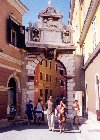 Croatia - Rovinj: town gate (photo by M.Torres)