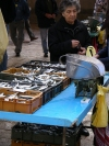 Croatia - Split: at the fish market - buying sardines (photo by R.Wallace)