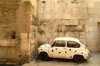 Croatia - Split: Zastava - relic of Yugoslavia - old town parking - photo by J.Banks