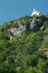 Croatia - prime position - hilltop church- photo by J.Banks