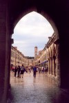 Croatia - Dubrovnik / DBV : Placa / Stradun after the rain (photo by M.Torres)