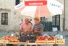 Croatia - Dubrovnik (Dubrovnik-Neretva County / Dubrovacko-Neretvanska Zupanija): daily business - the market - photo by J.Banks