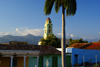 Cuba - Trinidad - Sancti Spíritus province: the town and the mountains - bell-tower of the former convent of San Fransisco de Asis - photo by A.Ferrari