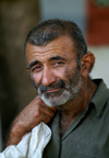 Cuba - Holguín - George Cloony - the face of a hard life - photo by G.Friedman