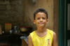 Cuba - Holguín province - boy in yellow shirt - photo by G.Friedman