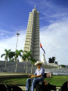 Cuba - Havana / La Habana / HAV : Memorial Jos� Mart�, Plaza de la Revoluci�n. This monument dates from the time of Fulgencio Batista - photo by L.Gewalli