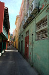 Curacao - Willemstad: A quiet back street, central Punda - photo by S.Green