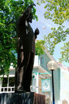 Curacao - Willemstad: Statue, central Punda - photo by S.Green