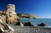 Petra Tou Romiou - Paphos district, Cyprus: rock column on the beach - photo by A.Ferrari