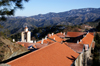 Kykkos Monastery - Troodos mountains, Nicosia district, Cyprus: red roofs - photo by A.Ferrari