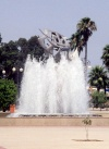 Cyprus - Larnaca / Larnax / LCA : flying away - fountain - photo by Miguel Torres