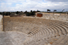 Kourion - Limassol district, Cyprus: the theatre - photo by A.Ferrari