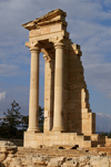 Kourion - Limassol district, Cyprus: sanctuary of Apollo Hylates - photo by A.Ferrari