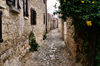 Lofou - Limassol district, Cyprus: long narrow street - photo by A.Ferrari