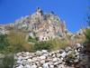 North Cyprus - Kyrenia region: St Hilarion castle - hill top (photo by Rashad Khalilov)