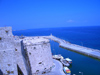 North Cyprus - Kyrenia / Girne: the pier from the castle (photo by Rashad Khalilov)