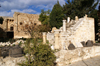 Kyrenia, North Cyprus: classic period ruins in the courtyard of the castle - photo by A.Ferrari