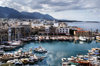 Kyrenia, North Cyprus: yachts and fishing boats - view over the medieval harbour from the castle - photo by A.Ferrari