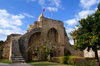 Bellapais, Kyrenia district, North Cyprus: Bellapais abbey - entrance - photo by A.Ferrari