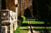 Bellapais, Kyrenia district, North Cyprus: Bellapais abbey - interior - photo by A.Ferrari