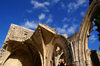 Bellapais, Kyrenia district, North Cyprus: Bellapais abbey - ruins of the nave - photo by A.Ferrari