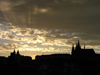 Czech Republic - Prague: Hradcany Castle - silhouette - photo by J.Kaman