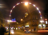 Czech Republic - Hradec Kralove: street scene - nocturnal - photo by J.Kaman