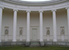 Czech Republic - Lednice: Ionic colonnade behind Three Graces - architect: Engel - photo by J.Kaman