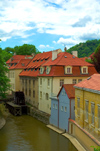 Czech Republic - Prague / Praha (Bohemia) / PRG: water mill (photo by P.Gustafson)