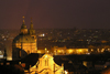 Czech Republic - Prague / Praha: nocturnal skyline (photo by J.Kaman)