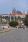 Prague Castle as seen from the Rudolfinum. Prague, Czech Republic - photo by H.Olarte