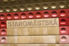Staromestska Station. Prague Subway system. Czech Republic - photo by H.Olarte