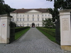 Czech Republic: Boskovice / Boskowitz - South Moravian region: Mensdorff-Pouilly chateau - Imperial style by architect Josef Esche - photo by J.Kaman