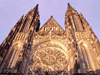 Czech Republic - Prague / Praha : St. Vitus Cathedral - façade (photo by M.Bergsma)