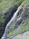 Russia - Dagestan - Tsumada rayon - Gakvari: water-fall (photo by G.Khalilullaev)
