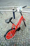 Denmark - Copenhagen / København / CPH: one of the city's utility bikes (photo by Juraj Kaman)