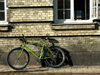 Denmark - Copenhagen / København / CPH: Bicycle and brick wall  (photo by G.Friedman)