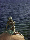 Denmark - Copenhagen / K�benhavn / CPH: Hans Christian Anderson's Little Mermaid - Den Lille Havfrue (photo by G.Friedman)