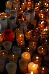 Hig�ey, Dominican Republic: candles - Basilica of Our Lady - Basilica de Nuestra Se�ora de la Altagracia - photo by M.Torres