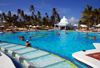 Punta Cana, Dominican Republic: Riu Palace Hotel - the alameda - main pool and pool bar - Arena Gorda Beach - photo by M.Torres