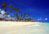 Punta Cana, Dominican Republic: Arena Gorda Beach - area controlled by an all inclusive hotel - photo by M.Torres