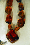La Romana, Dominican Republic: amber necklace with pendant - photo by M.Torres