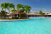 R�o San Juan, Mar�a Trinidad S�nchez province, Dominican republic: main pool at the Bahia Principe resort - photo by M.Torres