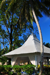 R�o San Juan, Mar�a Trinidad S�nchez province, Dominican republic: gazebo used for wedding ceremonies - Bahia Principe resort - photo by M.Torres