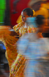 Santo Domingo, Dominican Republic: pair of Dominican dancers - photo by M.Torres