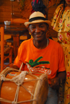 Santo Domingo, Dominican Republic: drummer - photo by M.Torres