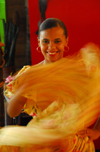 Santo Domingo, Dominican Republic: Dominican dancer - photo by M.Torres