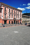 Quito, Ecuador: Plaza de la Merced - fa�ades on Calle Cuenca - photo by M.Torres
